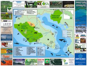 Osa Peninsula Map
